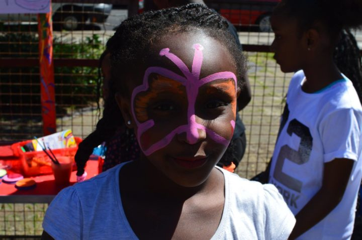 Timbuktu Adventure Playground - Girl with facepaint