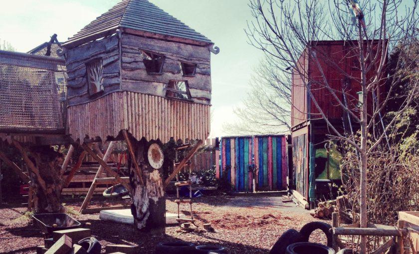 Timbuktu Adventure Playground structure