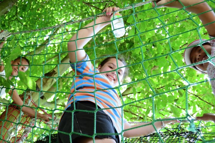 Lumpy Hill Adventure Playground Green Nets