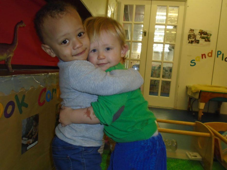PPCC Nursery PSED Hug
