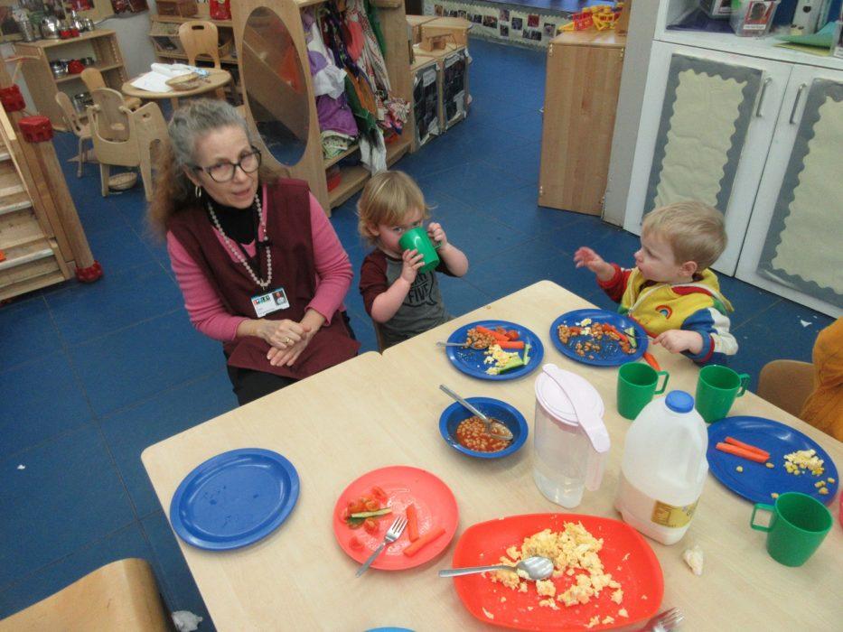 PPCC Nursery PSED Eat
