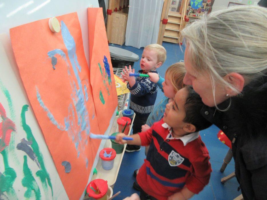 PPCC Nursery PSED Paint